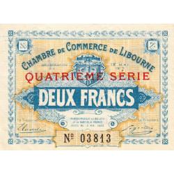 Libourne - Pirot 72-20 - 2 francs - Quatrième série - 12/05/1917 - Etat : SUP+