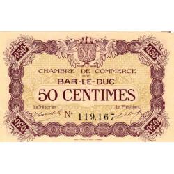Bar-le-Duc - Pirot 19-1 - 50 centimes - Sans date (1915) - Etat : SUP