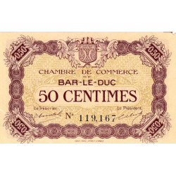 Bar-le-Duc - Pirot 19-1b - 50 centimes - Etat : SUP