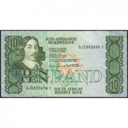 Afrique du Sud - Pick 120d - 10 rand - 1985 - Etat : TB+