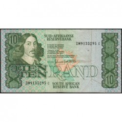 Afrique du Sud - Pick 120d - 10 rand - 1985 - Etat : TB