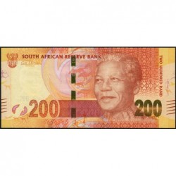Afrique du Sud - Pick 137 - 200 rand - 2012 - Etat : NEUF