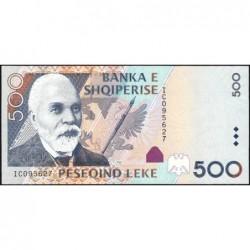 Albanie - Pick 72a - 500 lekë - Série IC - 2007 - Etat : NEUF