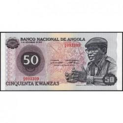 Angola - Pick 114 - 50 kwanzas - Série J/A - 14/08/1979 - Etat : NEUF
