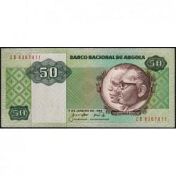 Angola - Pick 118 - 50 kwanzas - Série CB - 07/01/1984 - Etat : NEUF