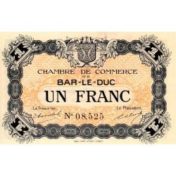 Bar-le-Duc - Pirot 19-3 - 1 franc - Sans date (1915) - Etat : SPL