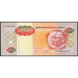 Angola - Pick 138 - 50'000 kwanzas reajustados - Série PT - 01/05/1995 - Etat : NEUF