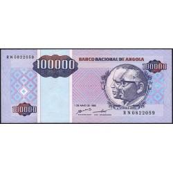 Angola - Pick 139 - 100'000 kwanzas reajustados - Série RN - 01/05/1995 - Etat : NEUF