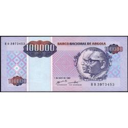 Angola - Pick 139 - 100'000 kwanzas reajustados - Série RR - 01/05/1995 - Etat : pr.NEUF