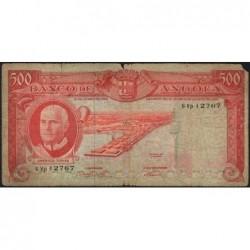 Angola - Pick 95 - 500 escudos - Série 6 Vp - 10/06/1962 - Etat : B