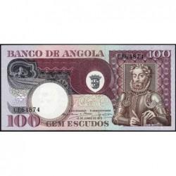 Angola - Pick 106 - 100 escudos - Série CB - 10/06/1973 - Etat : NEUF