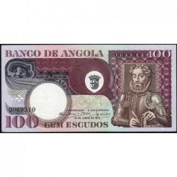 Angola - Pick 106 - 100 escudos - Série QO - 10/06/1973 - Etat : SPL+