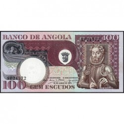 Angola - Pick 106 - 100 escudos - Série RP - 10/06/1973 - Etat : NEUF