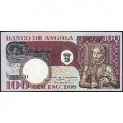 Angola - Pick 106 - 100 escudos - Série SS - 10/06/1973 - Etat : SUP+