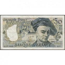 F 67-01 - 1976 - 50 francs - Quentin de la Tour - Série O.1 - Etat : TB