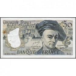 F 67-01 - 1976 - 50 francs - Quentin de la Tour - Série O.2 - Etat : TTB