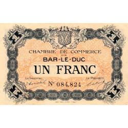 Bar-le-Duc - Pirot 19-3 - 1 franc - Sans date (1915) - Etat : SUP
