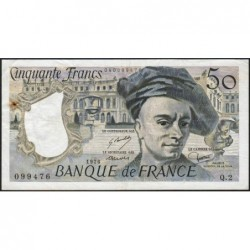 F 67-01 - 1976 - 50 francs - Quentin de la Tour - Série Q.2 - Etat : TTB