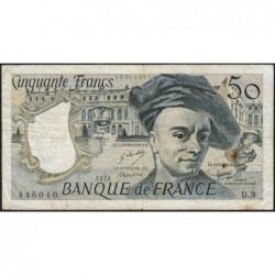 F 67-01 - 1976 - 50 francs - Quentin de la Tour - Série U.3 - Etat : TB