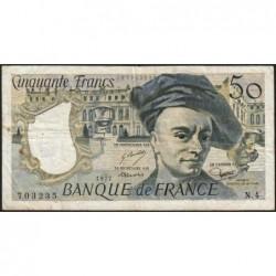 F 67-02 - 1977 - 50 francs - Quentin de la Tour - Série N.4 - Etat : TB