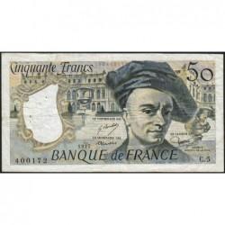 F 67-02 - 1977 - 50 francs - Quentin de la Tour - Série C.5 - Etat : TB