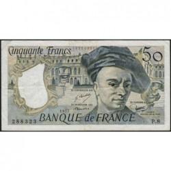 F 67-02 - 1977 - 50 francs - Quentin de la Tour - Série P.8 - Etat : TTB-