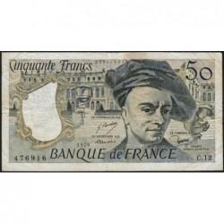 F 67-03 - 1978 - 50 francs - Quentin de la Tour - Série C.12 - Etat : TB-