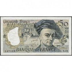 F 67-03 - 1978 - 50 francs - Quentin de la Tour - Série T.12 - Etat : TB+