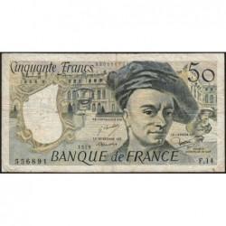 F 67-04 - 1979 - 50 francs - Quentin de la Tour - Série F.14 - Etat : TB-