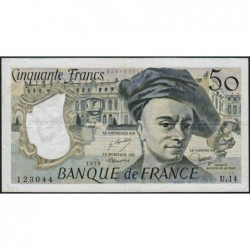 F 67-04 - 1979 - 50 francs - Quentin de la Tour - Série U.14 - Etat : TTB