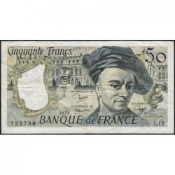 F 67-05 - 1979 - 50 francs - Quentin de la Tour - Série J.17 - Etat : TB+