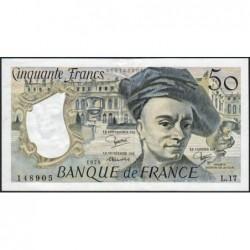 F 67-05 - 1979 - 50 francs - Quentin de la Tour - Série L.17 - Etat : TTB+