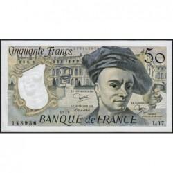F 67-05 - 1979 - 50 francs - Quentin de la Tour - Série L.17 - Etat : pr.NEUF