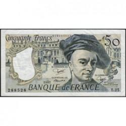 F 67-07 - 1981 - 50 francs - Quentin de la Tour - Série T.25 - Etat : TTB-