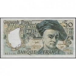 F 67-09 - 1983 - Faux 50 francs - Quentin de la Tour - Série S.04 - Etat : SUP