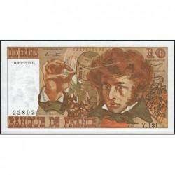 F 63-08 - 06/02/1975 - 10 francs - Berlioz - Série Y.131 - Etat : pr.NEUF