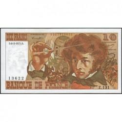 F 63-08 - 06/02/1975 - 10 francs - Berlioz - Série Z.131 - Etat : SUP