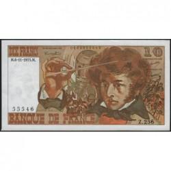 F 63-14 - 06/11/1975 - 10 francs - Berlioz - Série Z.256 - Etat : SUP