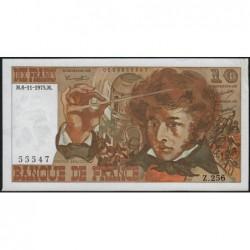 F 63-14 - 06/11/1975 - 10 francs - Berlioz - Série Z.256 - Etat : TTB+