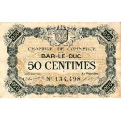 Bar-le-Duc - Pirot 19-7 - 50 centimes - Sans date (1917) - Etat : TB+