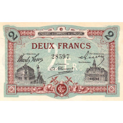 Limoges - Pirot 73-25 - 2 francs - Etat : TTB+