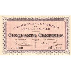 Lons-le-Saunier - Pirot 74-1 - 50 centimes - Série 908 - Sans date - Etat : NEUF
