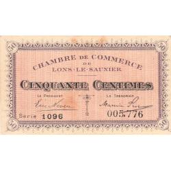 Lons-le-Saunier - Pirot 74-1 - 50 centimes - Série 1096 - Sans date - Etat : SUP-