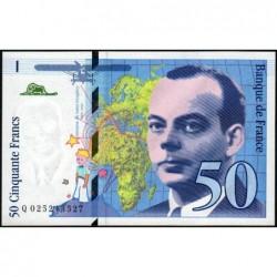 F 73-01d - 1994 - 50 francs - Saint-Exupéry - Série Q - Etat : NEUF