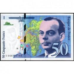 F 73-05 - 1999 - 50 francs - Saint-Exupéry - Série S - Etat : NEUF