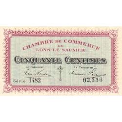 Lons-le-Saunier - Pirot 74-11 - 50 centimes - Série 1482 - Sans date - Etat : SPL