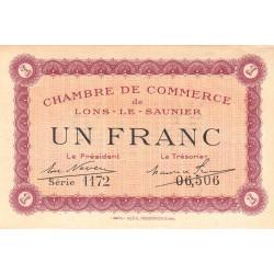 Lons-le-Saunier - Pirot 74-13 - Série 1172 - 1 franc - Etat : SUP+
