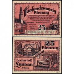 Pologne - Notgeld - Lauban (Luban) - 25 pfennig - 10/1920 - Etat : NEUF