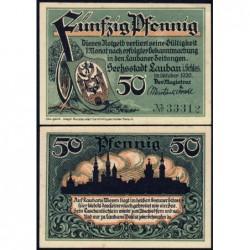 Pologne - Notgeld - Lauban (Luban) - 50 pfennig - 10/1920 - Etat : NEUF