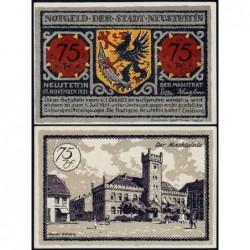 Pologne - Notgeld - Neustettin (Szczecinek) - 10 pfennig - 15/11/1921 - Etat : NEUF